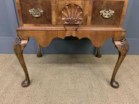 Very Good Queen Anne Style Burr Walnut Bureau (9 of 18)