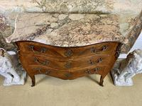 French 19th Century Kingwood Commode with Marble Top (6 of 6)