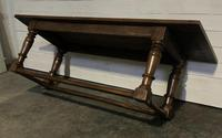 Very Early Oak Farmhouse Refectory Dining Table (6 of 31)