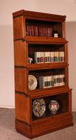 Globe Wernicke Bookcase in Oak Called Waterfall from England (8 of 9)