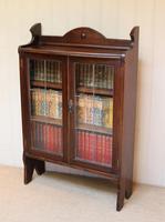 Oak Glazed Bookcase (5 of 10)