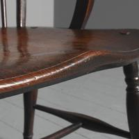 Victorian Elm & Mahogany Country Chair (5 of 8)