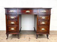 Antique Mahogany Small Desk (2 of 10)