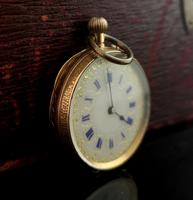 Antique 14k Gold Pocket Watch, Fob Watch (3 of 14)