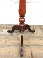 19th Century Mahogany Wine Table (6 of 8)