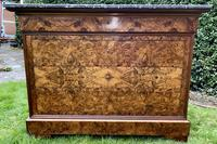Louis Philippe Commode in Burr Walnut