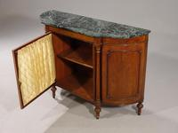 Attractive Early 20th Century Bow Ended Regency Style Mahogany Side Cabinet (3 of 5)