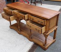 1960s Golden Oak Potboard Dresser Base - Variety of Uses (3 of 5)