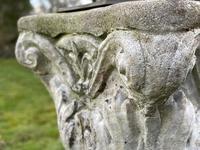 "Roman Style Stone Garden Bronze Floral Sundial ""Sunny Hour"" (21 of 30)"