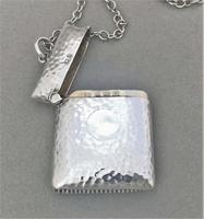 Arts & Crafts Silver Pendant Vesta (2 of 4)