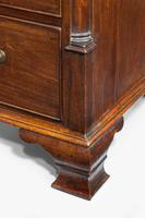 18th Century Mahogany Chest of Drawers with Quarter Column Corners (5 of 5)