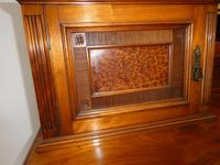 English 19th Century Walnut & Amboyna Cabinet (8 of 11)