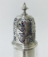 18th Century Solid Sterling Silver Sugar Caster Shaker by Thomas Bamford (5 of 11)