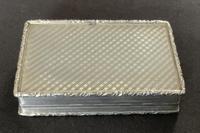 Victorian silver snuff box - Francis Clark (5 of 5)