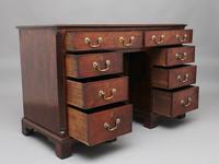 18th Century Mahogany Kneehole Desk (7 of 13)