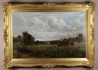 Country Scene with Hay Cart by Charles Thomas Burt (8 of 14)