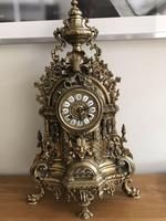 Antique Franz Hermle Imperial Ormolu Mantle Clock