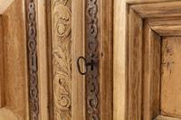 17th Century Flemish Bleached Oak Cabinet (7 of 13)
