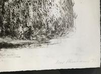 Original etching 'Arch 1' by Ivor Abrahams RA. 1935-2015 Signed, dated and inscribed. (3 of 4)