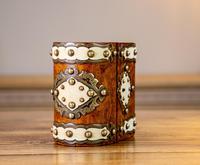 Burr Walnut Perfume Box 1870 (8 of 13)