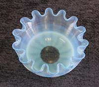 Antique Vaseline Stevens Williams Glass Finger Bowl (4 of 5)