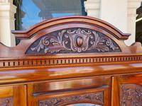 Antique Walnut Wardrobe with Burr Walnut Panels (10 of 11)