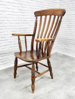 Large 'Grandfather' Windsor Lathback Armchair (6 of 6)