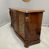 Gillows Serpentine Rosewood Sideboard (5 of 10)