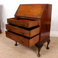 Bureau Mahogany Writing Desk Chest 19th Century (10 of 12)
