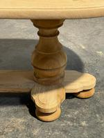 French Bleached Oak Monastery Dining Table (25 of 30)