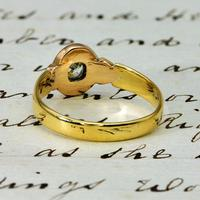 The Antique Victorian Old European & Rose Cut Diamond Ring (4 of 4)