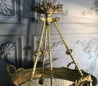 Brass Basket Shaped Light Fitting (9 of 11)