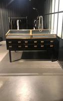 1920s Ebonised Display Cabinet (4 of 4)
