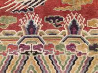 Antique Chinese Pillar Rug (3 of 13)