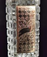 Antique 14ct Rose Gold Scent Bottle, 19th Century, Dutch, Cased (12 of 15)
