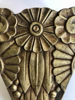French Bronze Art Deco Wall Sconce (3 of 4)