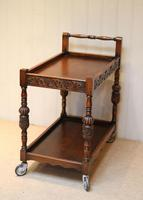 Carved Oak Trolley (6 of 10)
