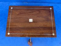 Victorian Rosewood Jewellery Box with Inlay (2 of 10)