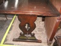 Refectory Draw Leaf Dining Table (3 of 3)