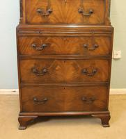 Antique Mahogany Chippendale Style Chest on Chest, Tallboy (4 of 15)
