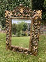Florentine Carved Giltwood Mirror (3 of 5)