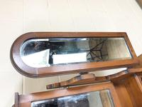 Antique Satin Walnut Dressing Table with Mirrors (6 of 10)