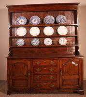 English Oak Dresser & Rack Early 18th Century (2 of 12)
