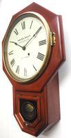 Impressive Victorian American Drop Dial Wall Clock 8 Day Movement Seth Thomas (3 of 12)