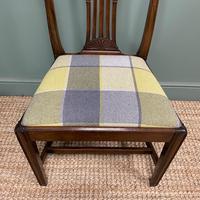 Set of 8 Hepplewhite Design Antique Mahogany Dining Chairs (3 of 10)