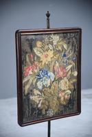 Antique Rosewood Pole Screen (8 of 11)