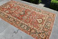 Antique Indian Amrytzer Rug 270x142cm (5 of 5)