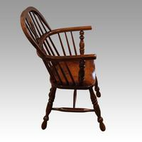 Pair of 19th Century Windsor Armchairs (4 of 6)