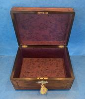 Victorian Walnut Jewellery Box c.1860 (14 of 14)