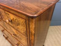 Victorian Burr Walnut Chest of Drawers (11 of 13)